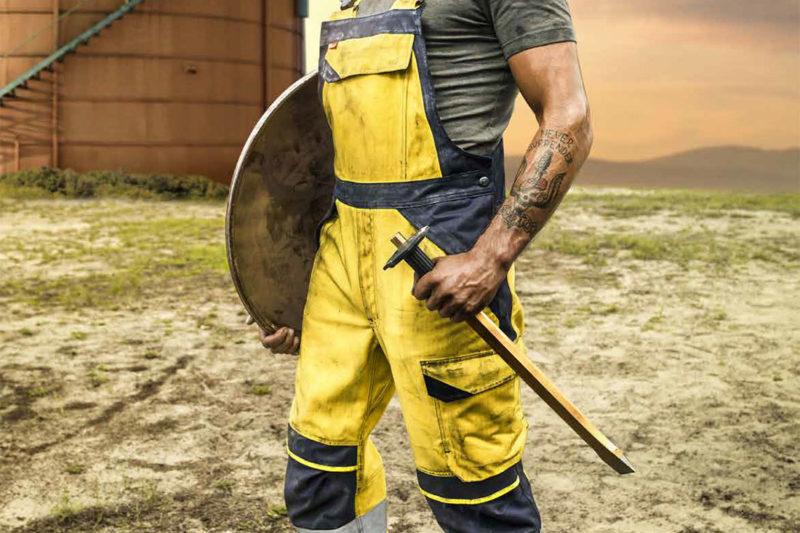 Arbeitskleidung für Brandschutz und Schweißschutz